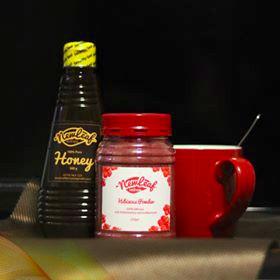 Newleaf Wellness Hibiscus Tea + Honey