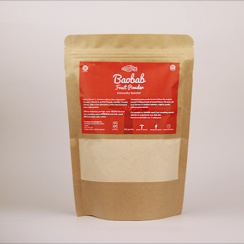 Baobab Fruit Powder 300gm Refill- Immunity Booster