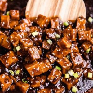 Ready made stir-fried tofu_pre-order by Thursday for delivery on Friday